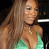 Serena Williams at the Ocean's Twelve World Premiere in 2004