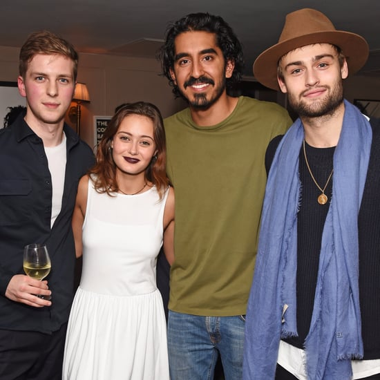 Dev Patel and Friends at Lion Screening in London Dec. 2016
