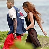 Rihanna Wears a Bikini to Celebrate 25 With Chris Brown in Hawaii