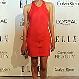 Diane Kruger also opts for Calvin Klein brights.