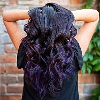 Blackberry Hair Colour Trend