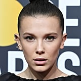 Millie Bobby Brown Hair at the 2018 Golden Globes