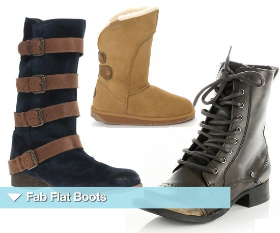 Flat Boots for Autumn Winter 2010