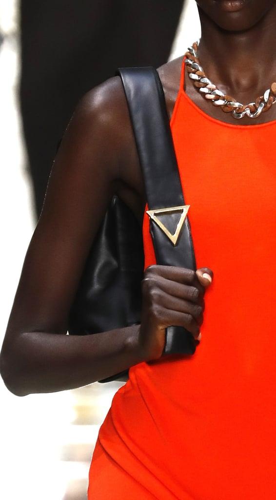 A Bottega Veneta Bag on the Runway During Milan Fashion Week