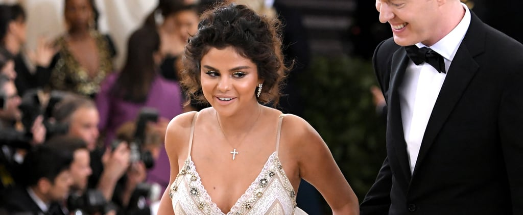 Selena Gomez Hair and Makeup at the 2018 Met Gala