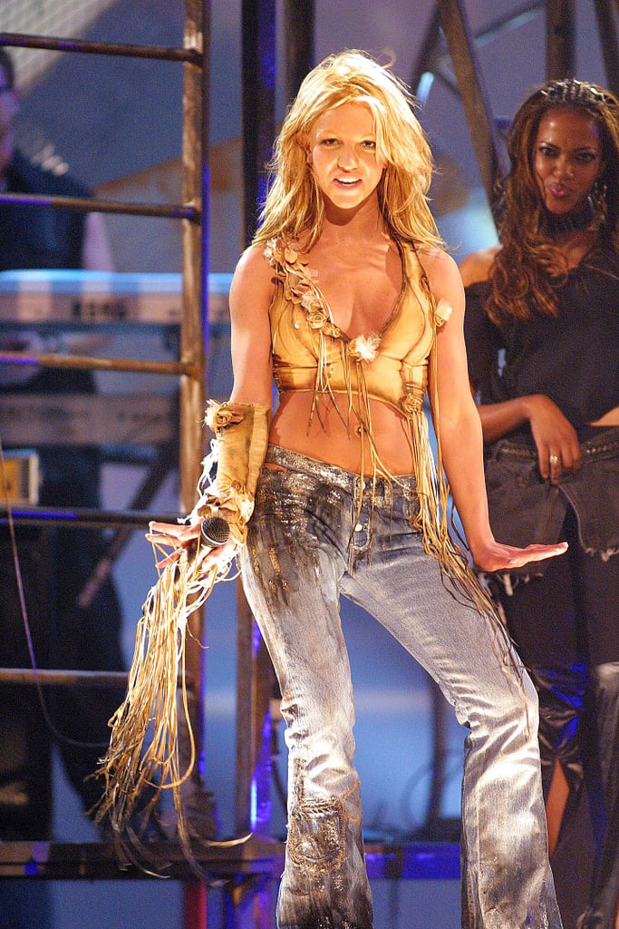 She rocked the crowd at the American Music Awards in January 2001.