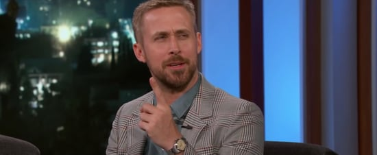 Ryan Gosling on First Man and His Kids on Jimmy Kimmel