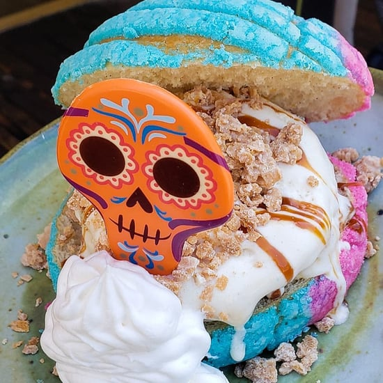 See Disneyland's New Day of the Dead Ice Cream Sandwich