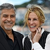 Julia and George Clooney were very smiley during Money Monster's photocall at the 2016 Cannes Film Festival.