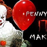 Easy Pennywise Makeup