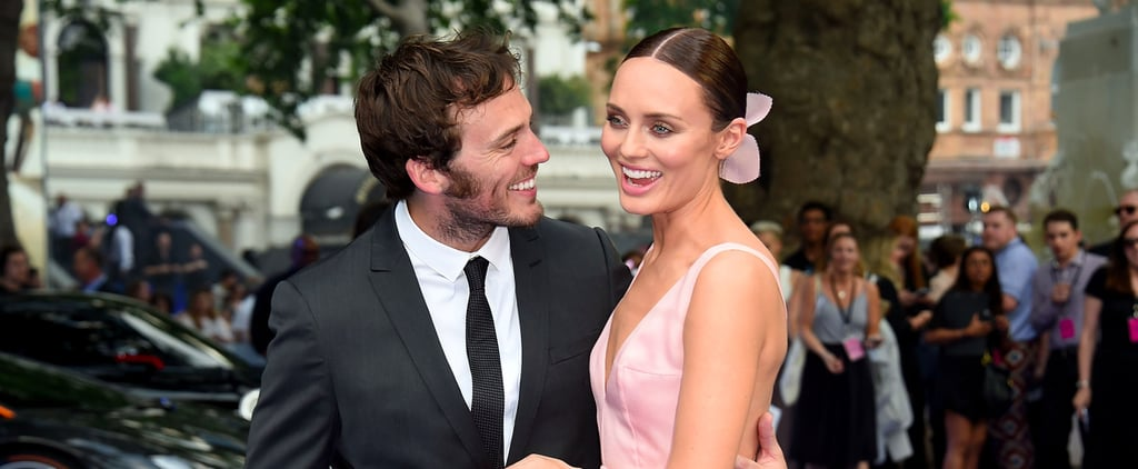 Sam Claflin and Laura Haddock Are a Match Made in Red Carpet Heaven