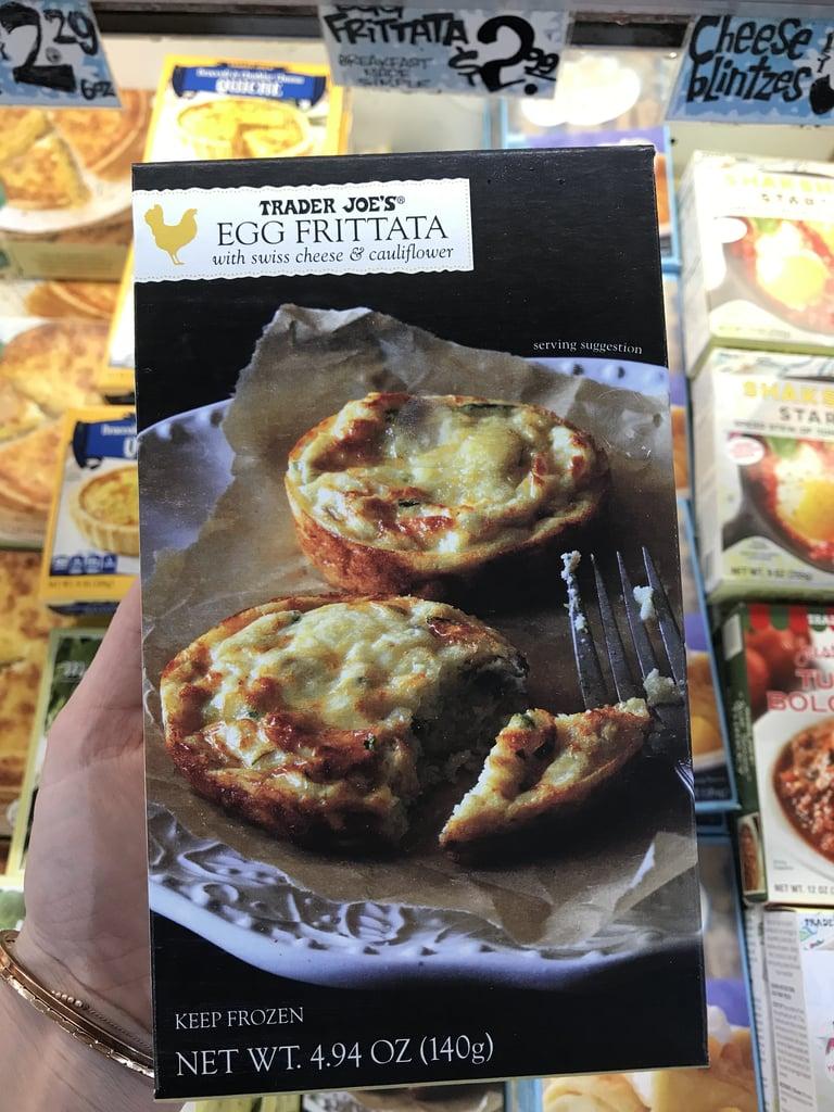 Trader Joe's Egg Frittata With Swiss Cheese and Cauliflower ($3)