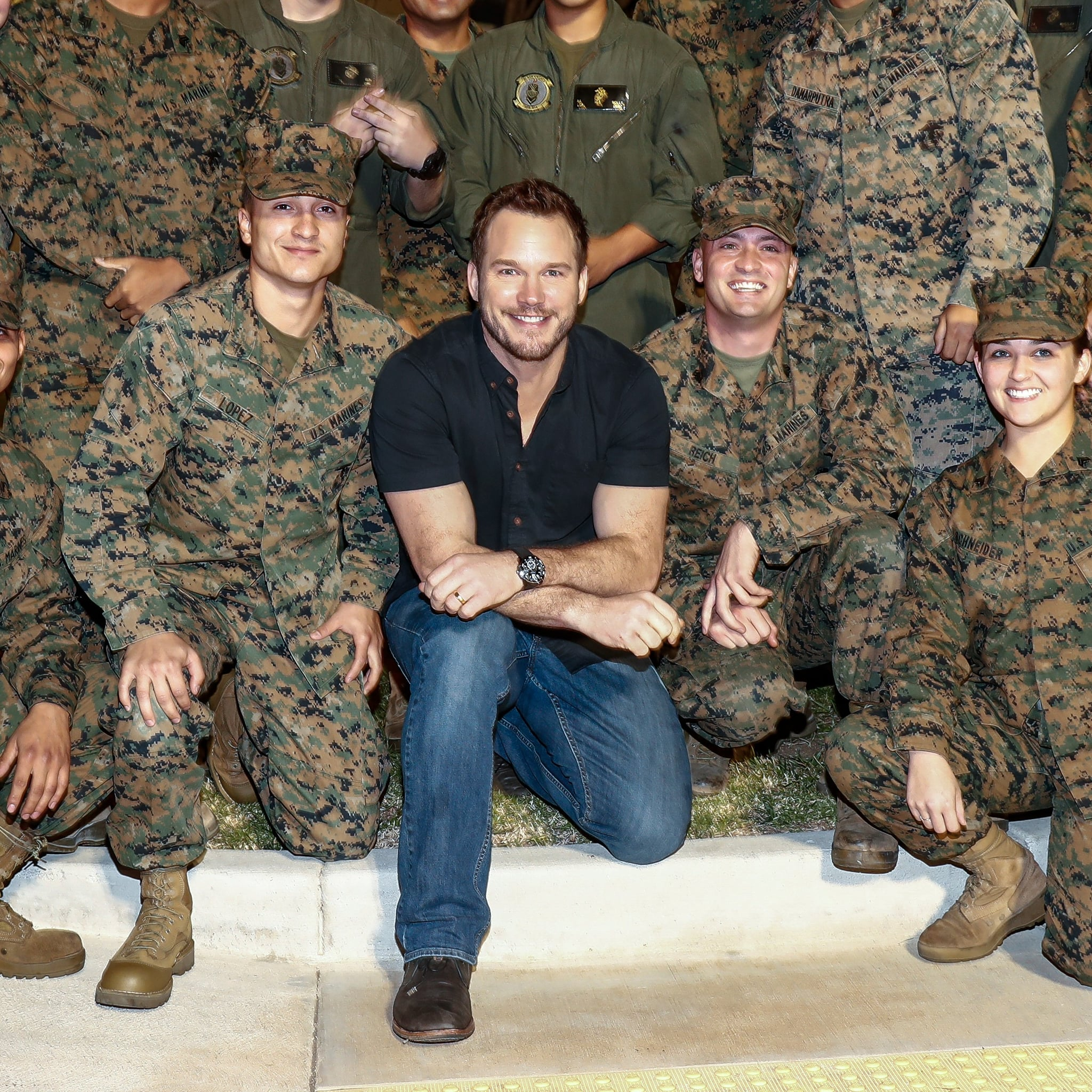 Marine Corps Wedding Bands 90 New Chris Pratt at Marine