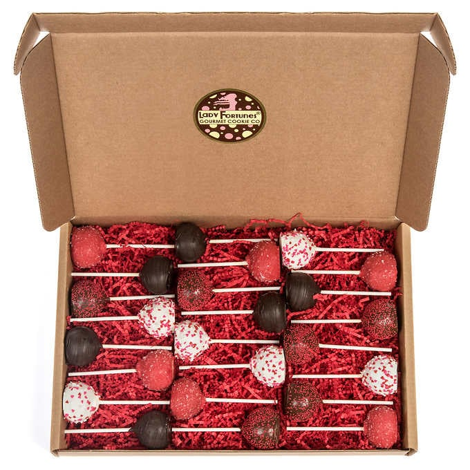 Romance Truffle Cake Pops
