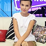 Millie Bobby Brown at the Young Hollywood Studio in 2016