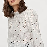 H&M Eyelet Embroidery Blouse