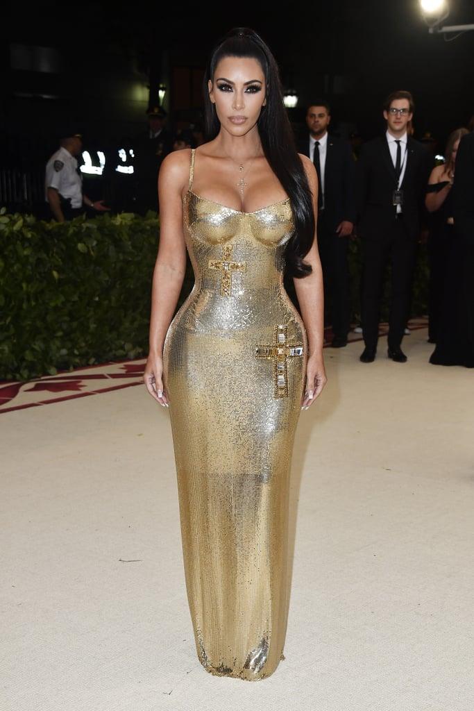 Resultado de imagen para kim kardashian met 2018