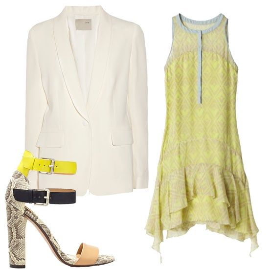 How to Wear a White Blazer For Spring