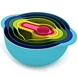 Joseph Joseph 8 Nesting Bowls Set With Mixing Bowls Measuring Cups