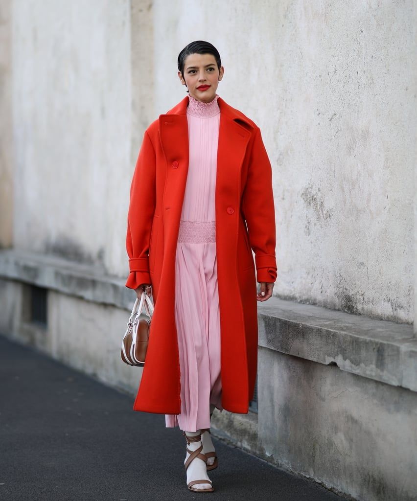 How to Wear the Red-and-Pink Colourblocking Trend