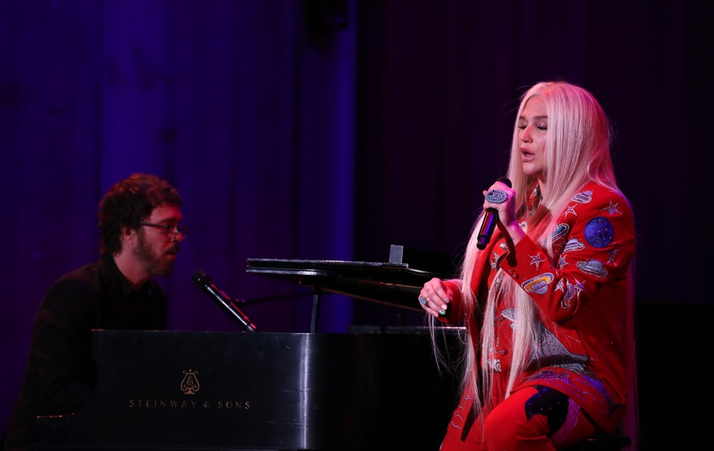 """June: She Performed at the David Lynch Foundation's """"National Night of Laughter and Song"""" Charity Event"""