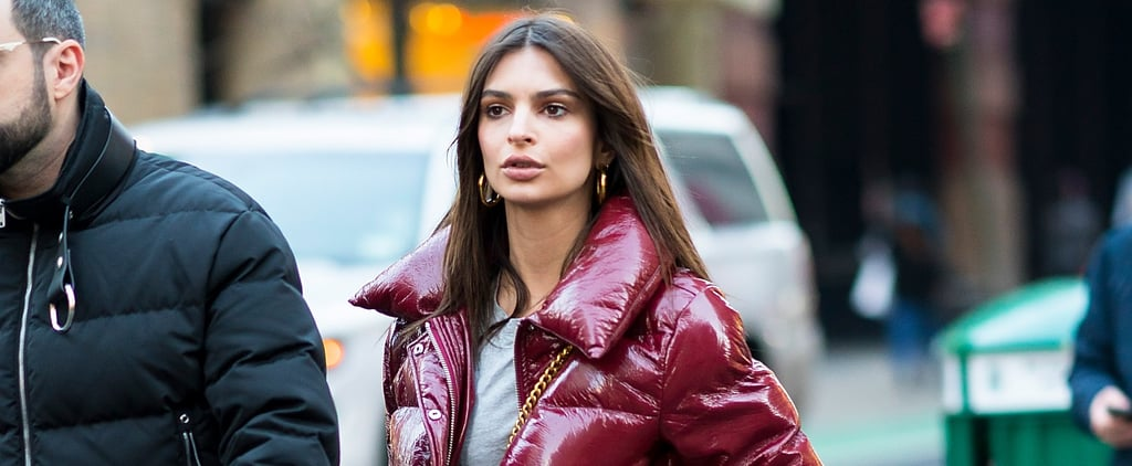 Emily Ratajkowski Wants You to Check Out Her Sexy Leggings From Behind