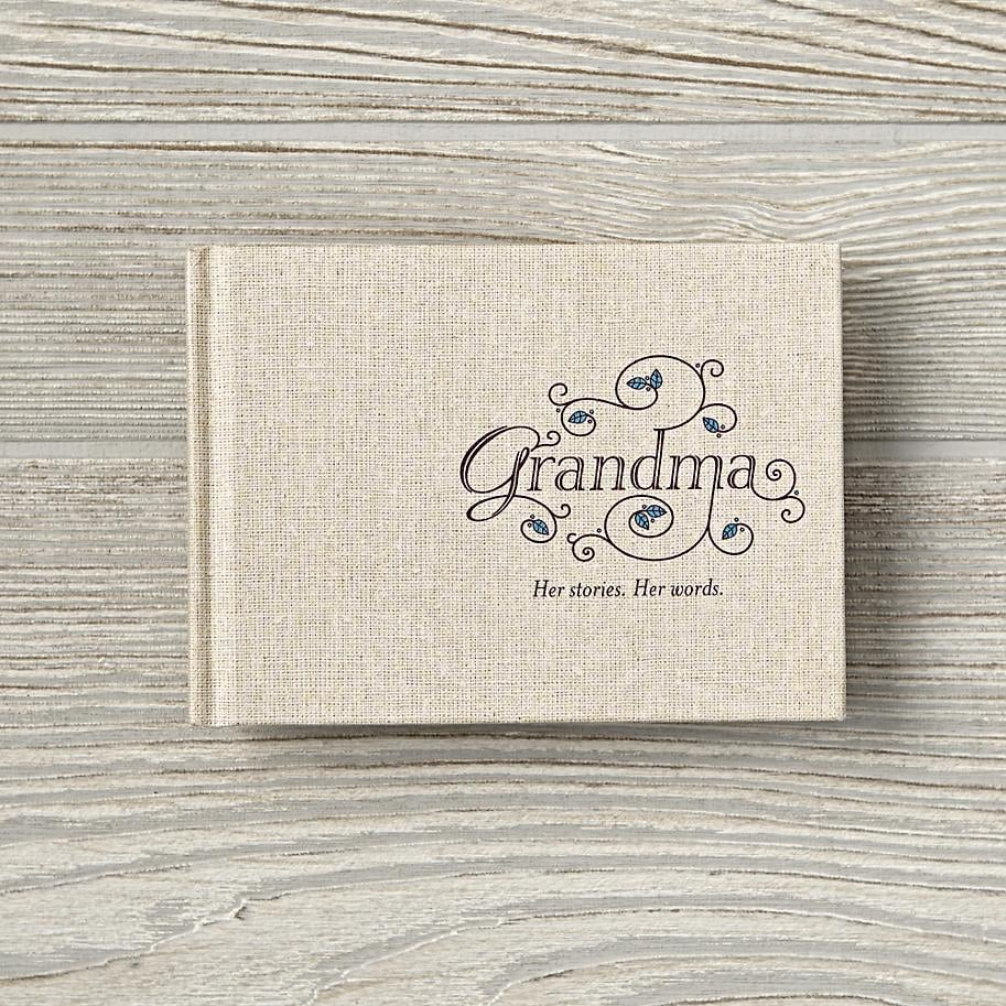 For a Grandma With a Cherished Perspective: My Grandma: Her Stories, Her Words Journal