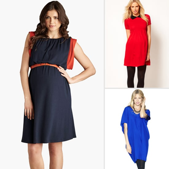 Best Fall Maternity Dresses 2012