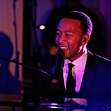 John Legend performed at Nielsen's pre-Grammys bash.