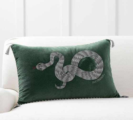 Harry Potter Slytherin Hogwarts House Pillow