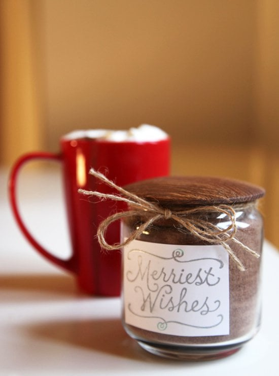 Homemade Vanilla Hot Chocolate Mix