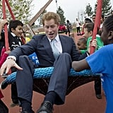 Harry Proved He Was the Most Playful Royal . . .