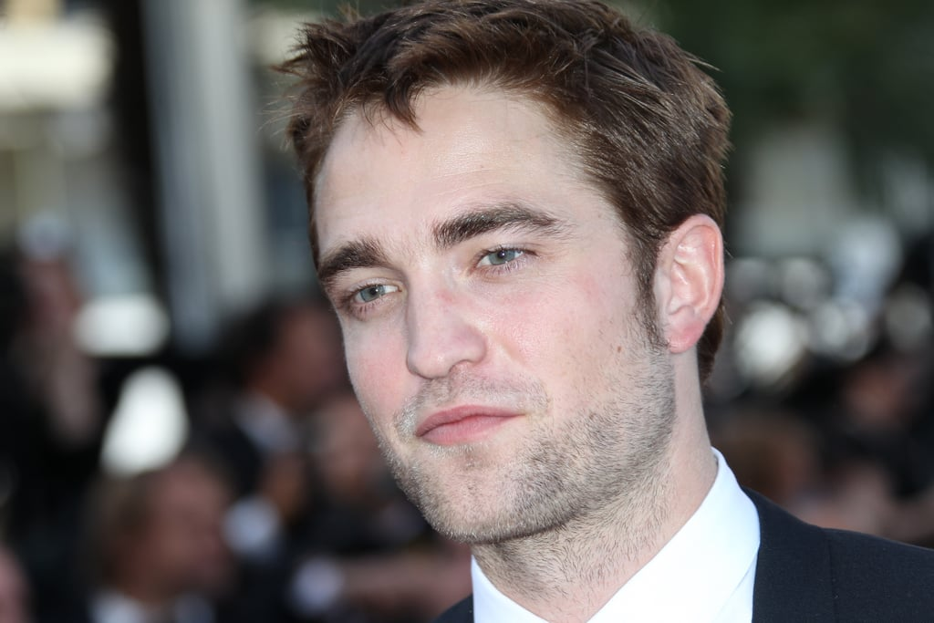 Robert Pattinson smiled at the On the Road premiere at the Cannes Film Festival.