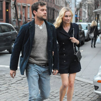Diane Kruger and Joshua Jackson Date Night in NYC