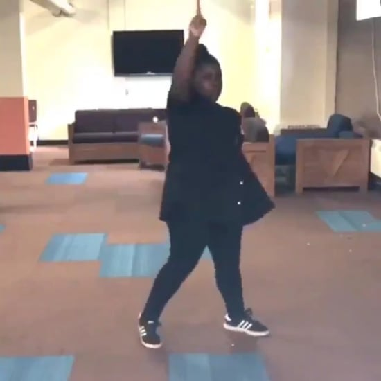 Girl Learns Janet Jackson Choreography