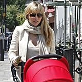 Elsa Pataky was out in London with daughter India Hemsworth.