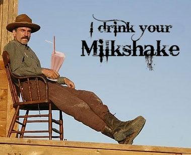 TV Dinners: There Will Be Blood — Blood Orange Milkshake