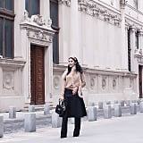 In Real Life: This look is a great way to switch up your everyday routine of pants vs. skirt and works for nearly every body type, from long and lean to short and curvy. You can also DIY a pair yourself by layering pieces you already have in your wardrobe.