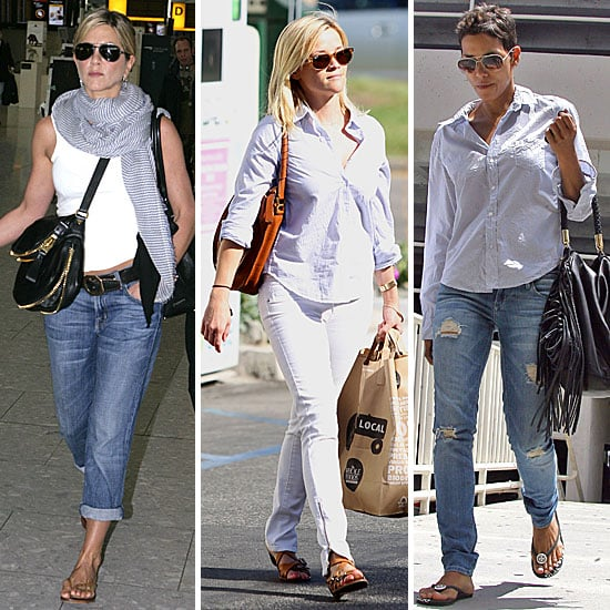 Celebrities Wearing Jeans Casual Celebrity Style Pictures Popsugar Fashion