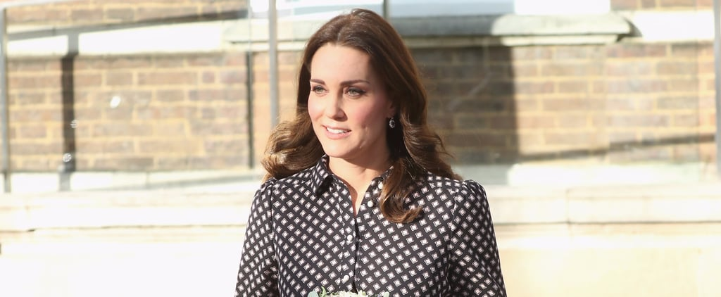 Kate Middleton Wearing Kate Spade Dress
