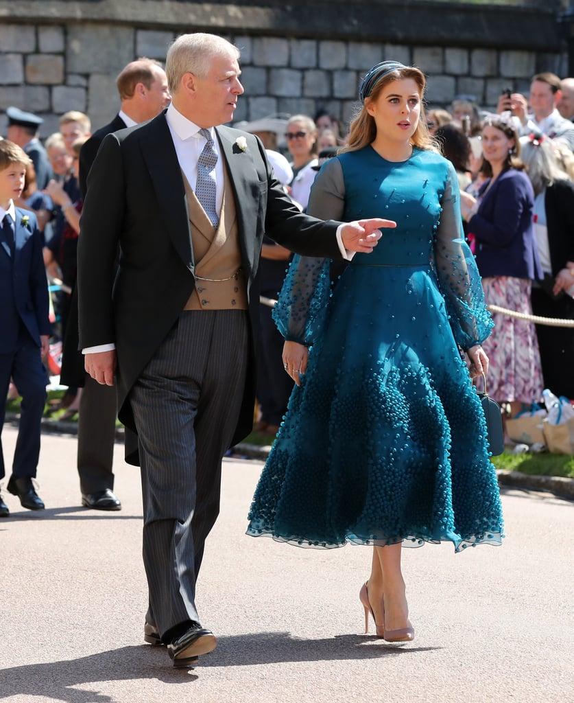 Princess Beatrice Dress at Royal Wedding 2018