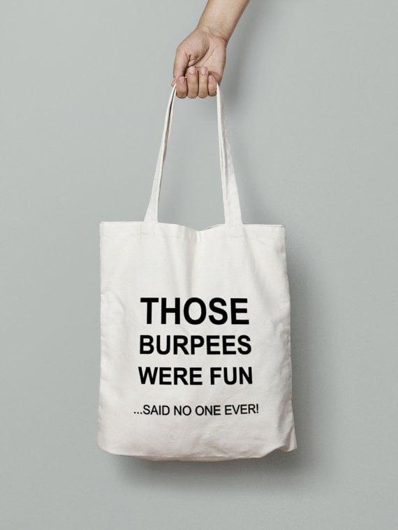 Burpee Tote Bag