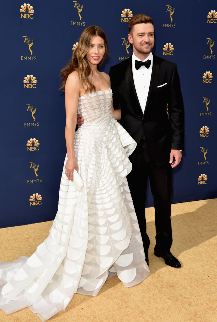 Image result for justin and jessica emmys
