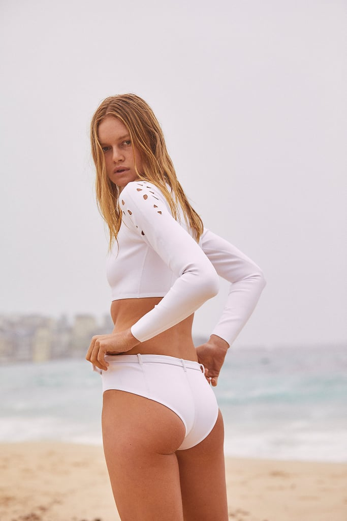 Gigi C Bikinis Justine Boyshort Bikini Bottoms and Bailey Jacket