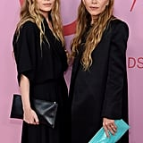 Mary-Kate and Ashley Olsen Wearing All Black