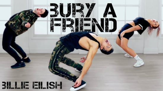 "The Fitness Marshall ""Bury a Friend"" Video"