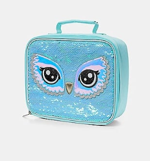 Sequined Lunch Bag
