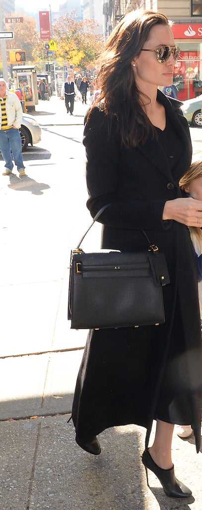 Even in All Black, a Monogrammed Bag Is the Perfect Way to Personalise Your Look