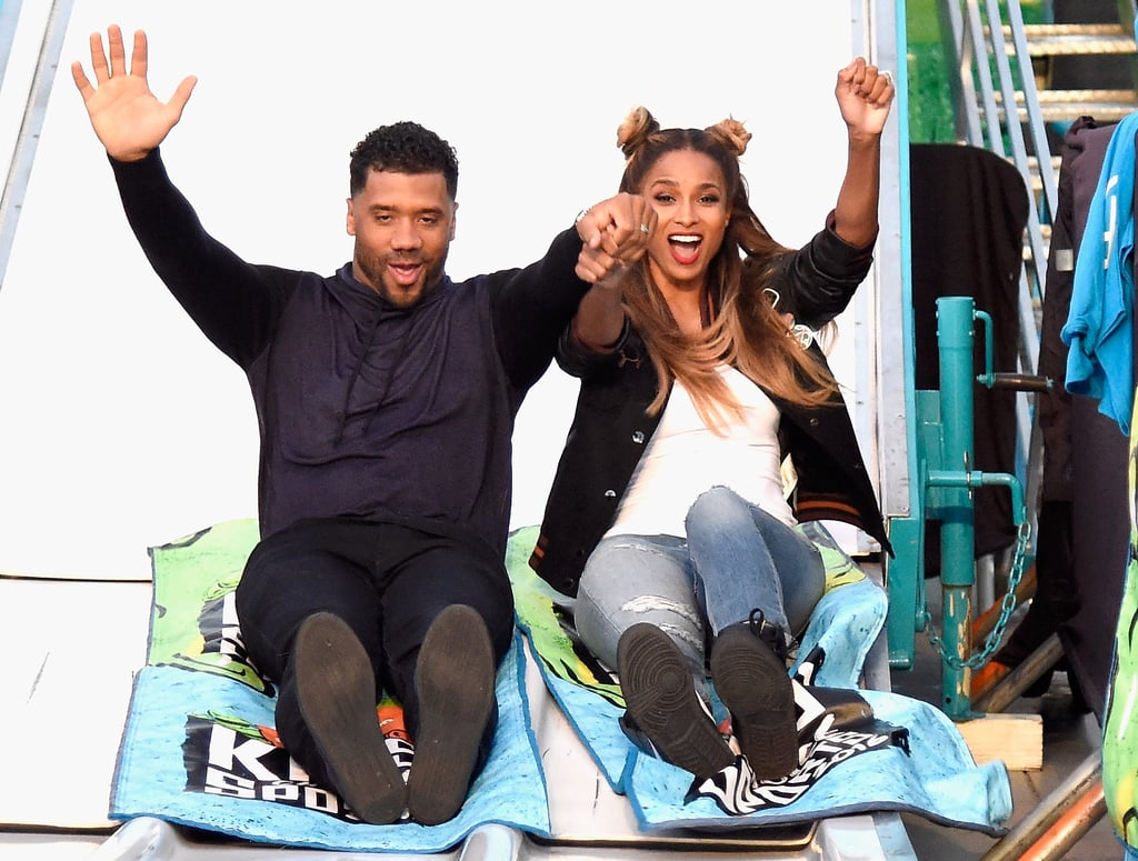 Ciara and Russell Wilson may have only gotten married in July 2016, but these two already have a plethora of adorable moments under their belts. Ever since the couple went public with their romance at the White House's Japanese state dinner in 2015, the couple has taken relationship goals to a whole new level. While Ciara is already mom to 2-year-old son Future (whom she shares with rapper Future), the pair is currently expecting their first child together. We can't wait for baby Wilson to arrive!      Related:                                                                Ciara and Little Future Sure Make For One Incredibly Cute Mother-Son Duo                                                                   Ciara's Growing Baby Bump Makes Another Adorable Appearance on Instagram