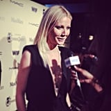 We chatted with a gorgeous Gwyneth Paltrow at the Women in Film pre-Oscar party.